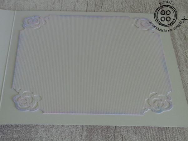 Kartka walentynkowa - wnętrze