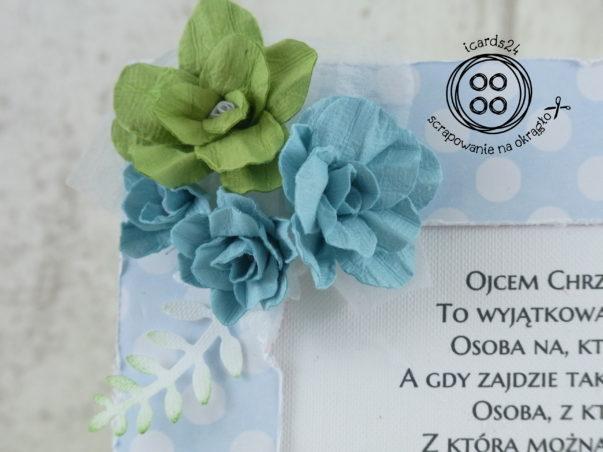 kwiaty z papieru czerpanego
