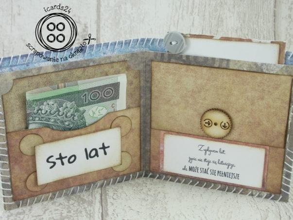 wnętrze portfela