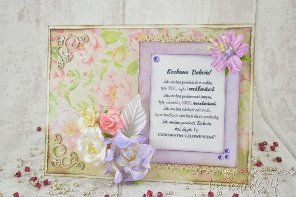 kartka z okazji Dnia Babci