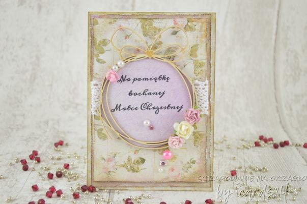 pamiątka dla Matki Chrzestnej