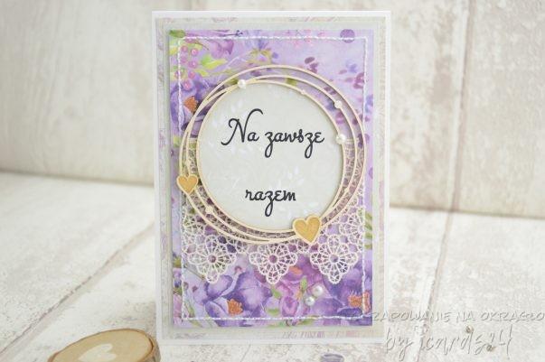 kartka z okazji przyjęcia ślubów wieczystych