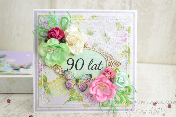 kartka z okazji 90 urodzin
