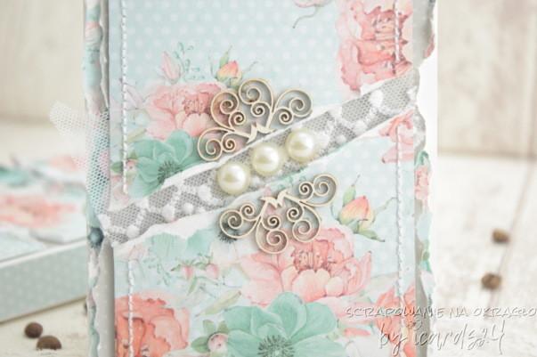 kartka z perłami