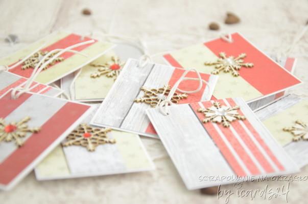 bileciki do prezentów z egoCraft
