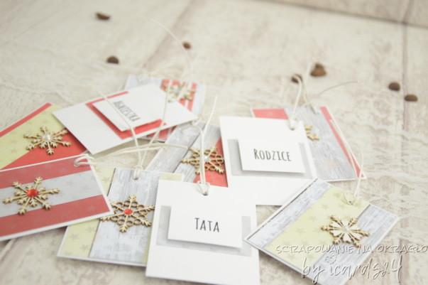 bileciki do prezentów z imionami