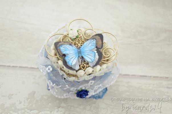 babeczka z motylem