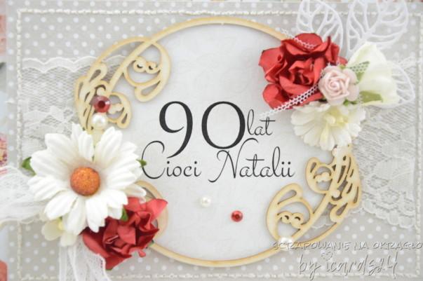 kartka na 90 Urodziny