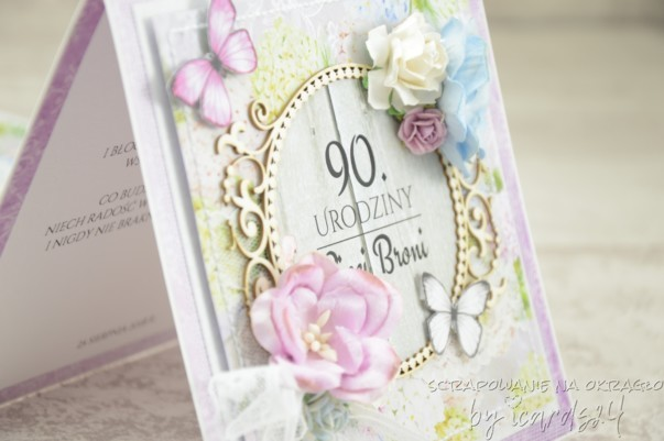 kartka z okazji 90. Urodzin