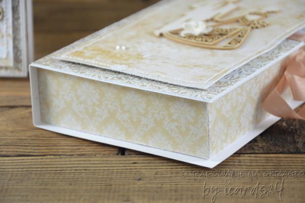 pudełko do kompletu z kartką