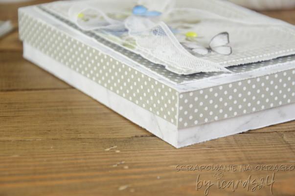 pudełko do kartki