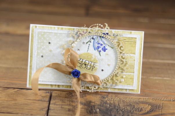 kartka z okazji złotych godów
