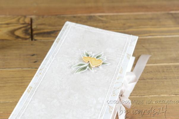 pudełko pamiątka na Ślub