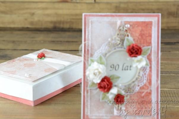 urodzinowa kartka z pudełkiem
