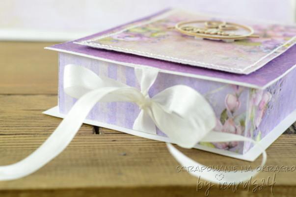 pudełko do ślubnej kartki