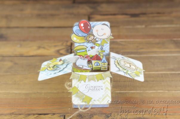 pop-up box dla dziecka