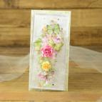 Uniwersalna kartka z kwiatami