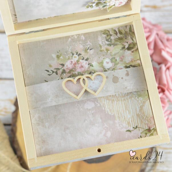 pudełko na pieniądze na ślub