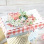 pudełko na bożonarodzeniowy prezent