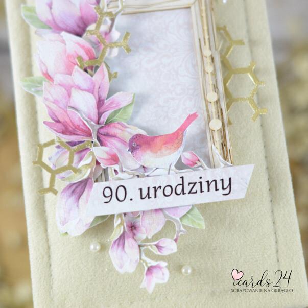 pamiątka na 90 urodziny