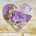 kartka w kształcie serca