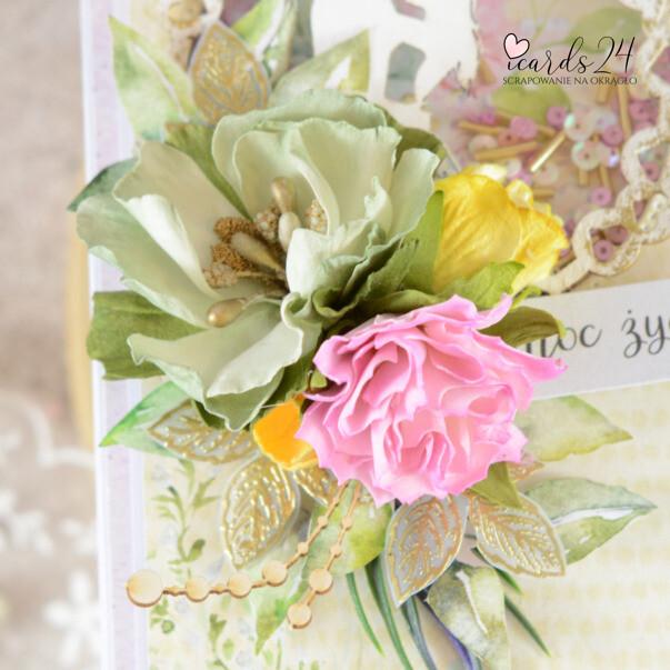 ręcznie robione kwiaty z foamiranu
